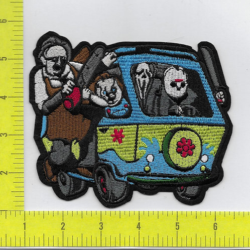 Scoby Doo Monsters Parody Patch LG