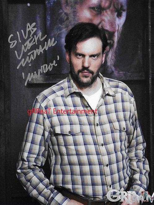 Silas Weir Mitchell Autographed 8 in x 10 in. Photo
