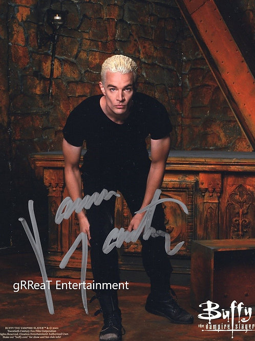 James Marsters autographed 8 in x 10 in photo