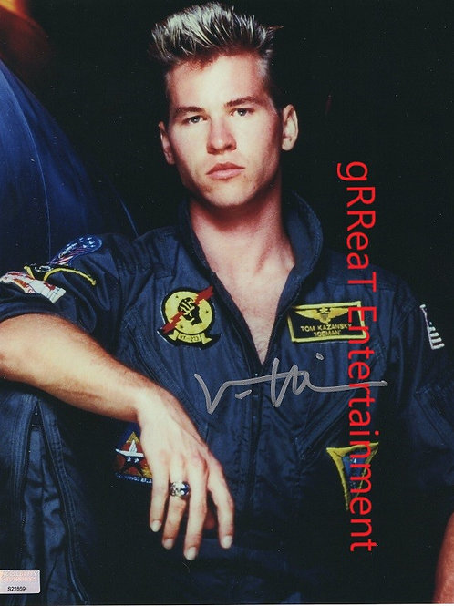 Val Kilmer Autographed 8 in x10 in. Photo