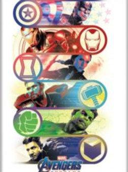 Avengers Endgame: Group with Emblems Logo