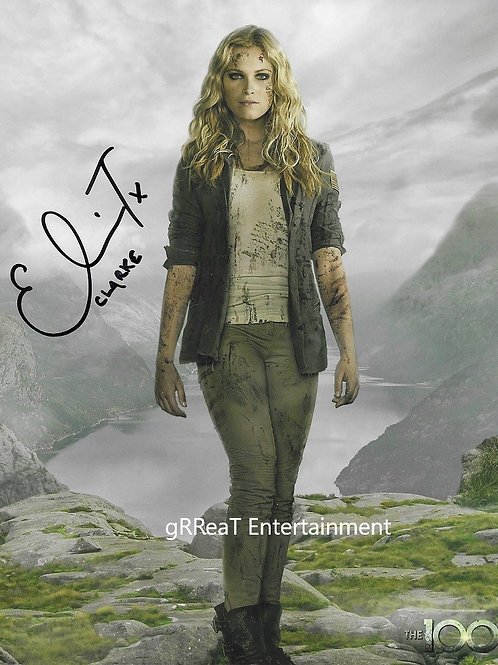 Eliza Taylor autographed 8 in x 10 in. Photo