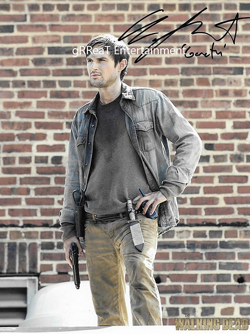 Andrew West autographed 8 in x 10 in photo