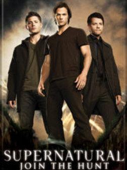 Supernatural: Sam, Dean and Castiel Trio Photo