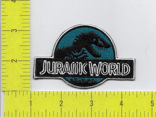 Jurassic World Movie Patch -Teal Color