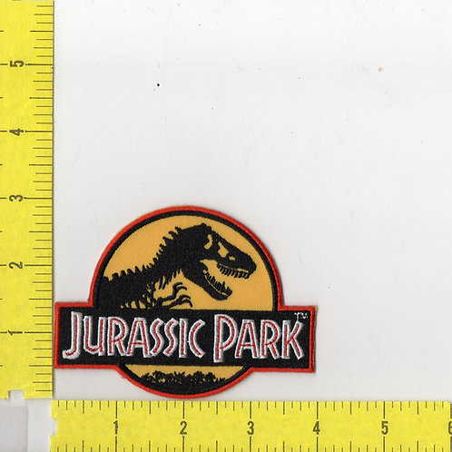 Classic Jurassic Park Movie Logo Patch