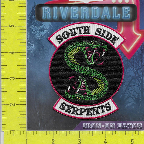 Riverdale TV Series South Side Serpents Licensed Patch