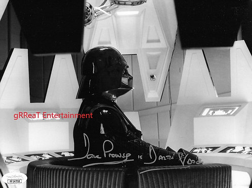 Dave Prowse autographed 10 in x 8 in photo