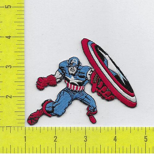Marvel Retro Capt. America Patch