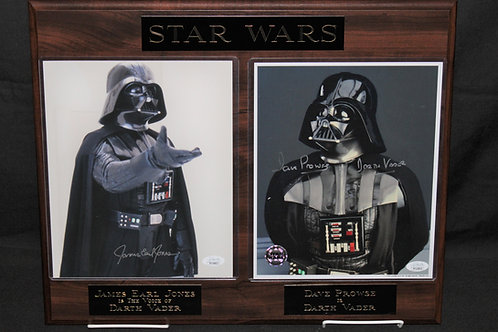 """""""Star Wars"""" Double Black Marble Plaque"""