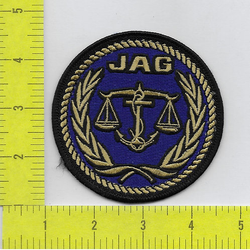 JAG TV Series Judge Advocate General Logo Patch