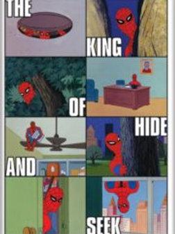 Marvel Comics: Spider-Man Cartoon Panels
