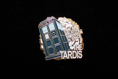 Doctor Who: Flying Tardis Pin