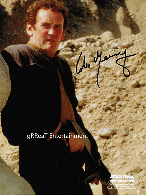 Colm Meaney autographed 8 in x 10 in photo