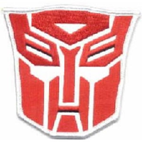 Transformers Autobot Face Red Logo