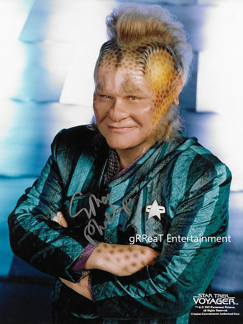 Ethan Phillips autographed 8 in x 10 in photo