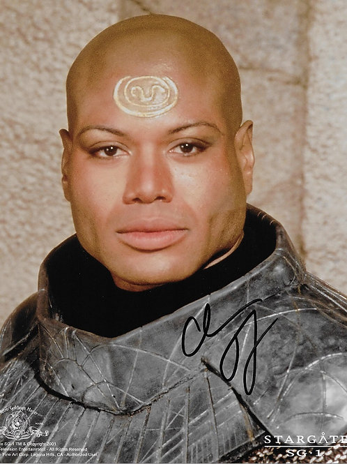 Chris Judge autographed 8 in x 10 in photo