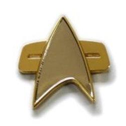 Star Trek:Voyager Communicator Half Size Pin
