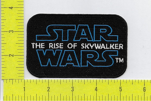 Star Wars: The Rise of Skywalker, Title Logo Patch
