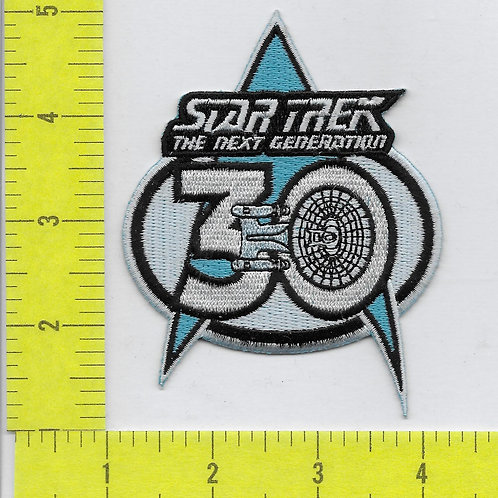 Star Trek The Next Generation 30th Anniversary Patch