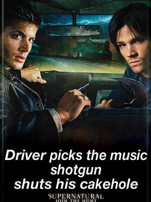 "Supernatural:""Shotgun Shuts Cakehole"""