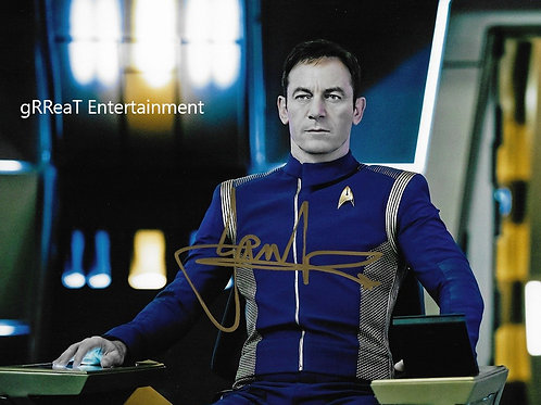 Jason Isaacs autographed 10 in x 8 in. Photo