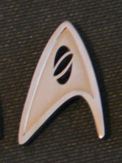 Star Trek New Movie Science Chevron Pin