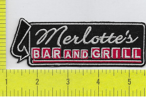 Tru Blood TV Series Merlotte's Bar and Grill Patch