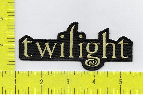 Twilight Title Logo Patch