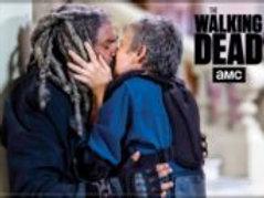 TWD: Carol & Ezekial Kiss