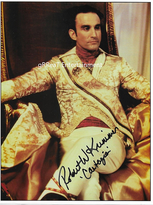 Robert W. Krimmer autographed 8 in x 10 in photo