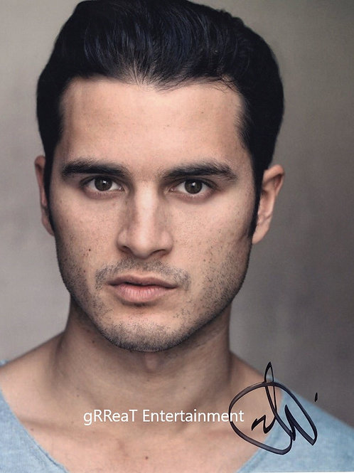 Michael Malarkey autographed 8 in x 10 in photo