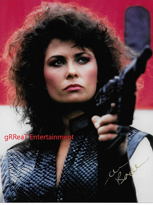 Jane Badler autographed 8 in x 10 in. Photo
