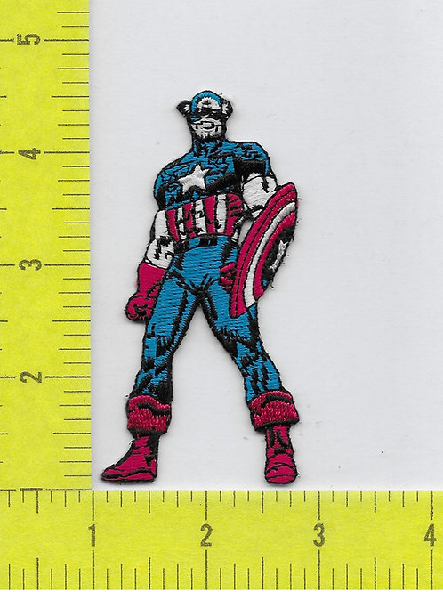 Marvel Comics Retro Capt. America Patch