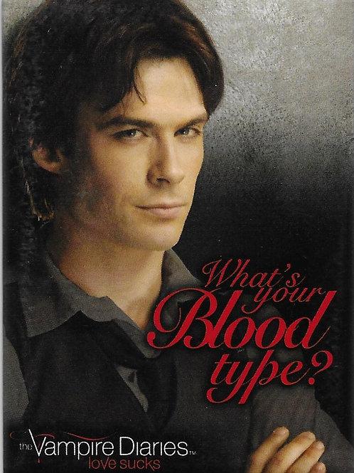 The Vampire Diaries: Damon, What's My Blood Type?RETIRED