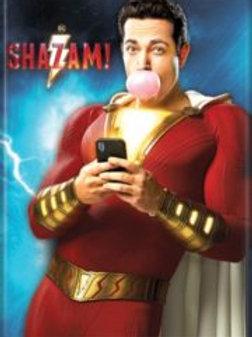 Shazam: Standing, Blowing Bubble