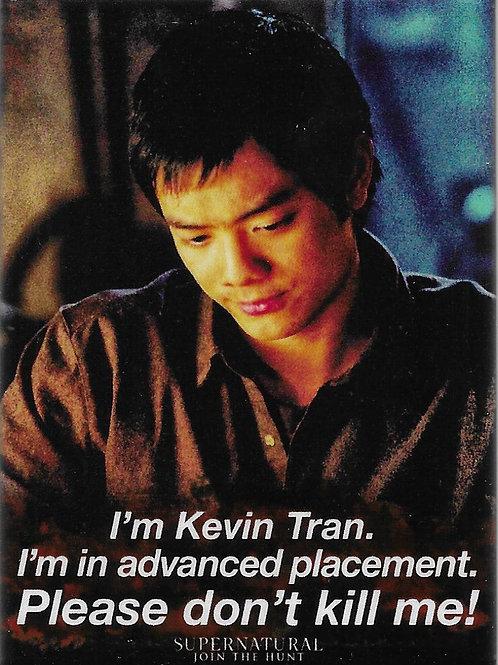 Supernatural: I'm Kevin Tran.