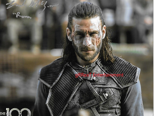 Zach McGowan autographed 10 in x 8 in photo