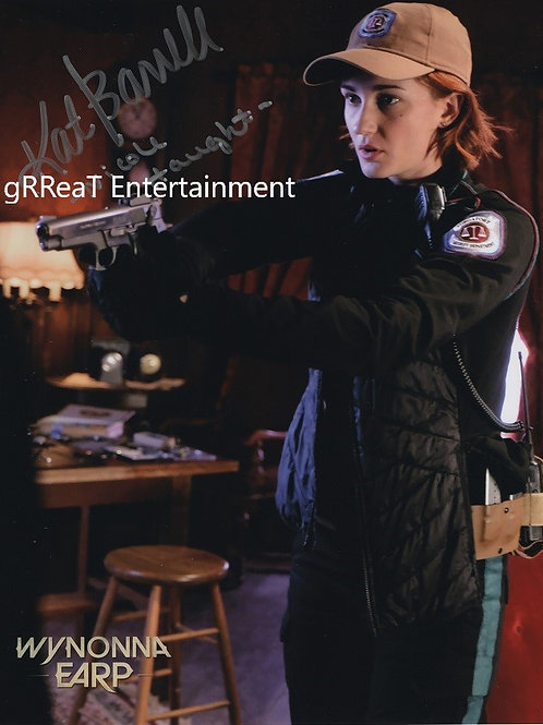 Kat Barrell  autographed 8 in x 10 in photo