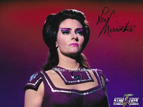 Lee Meriwether autographed 10 in x 8 in photo
