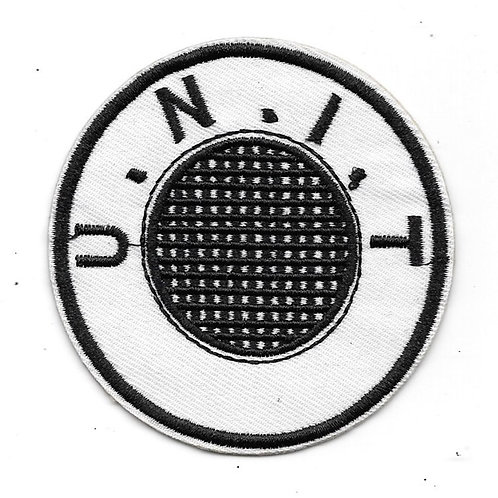 Doctor Who: round U.N.I.T Patch