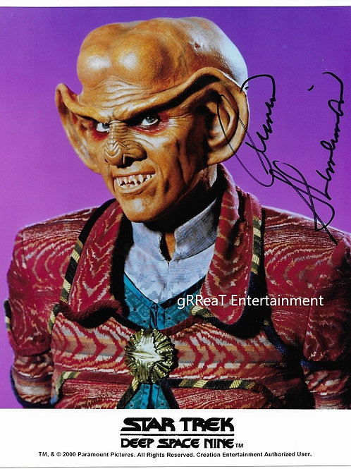 Armin Shimerman autographed 8 in x 10 in photo