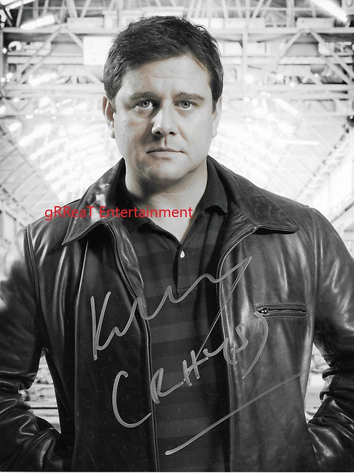 Kai Owen autographed 8 in x 10 in photo