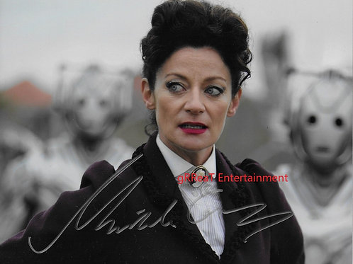 Michelle Gomez autographed 10 in x 8 in photo