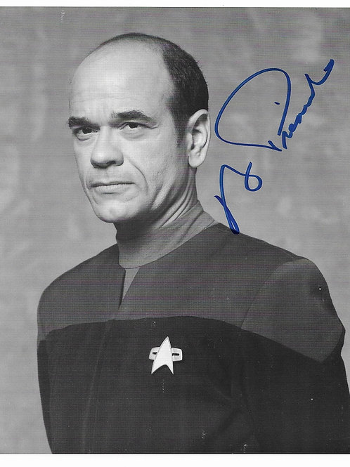 Robert Picardo autographed 8 in x 10 in photo