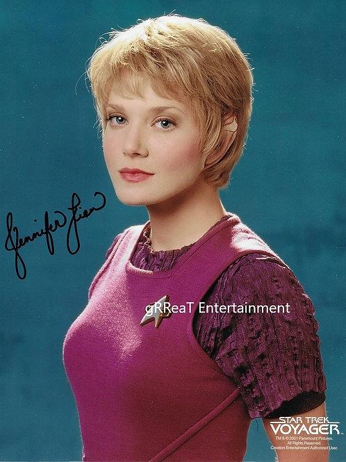 Jennifer Lien autographed 8 in x 10 in photo
