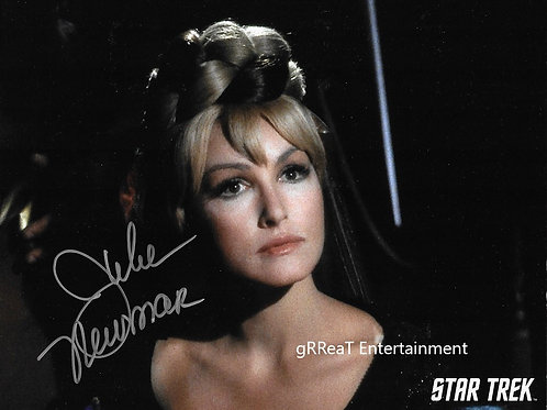 Julie Newmar autographed 10 in x 8 in photo
