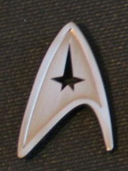Star Trek New Movie Command Chevron Pin
