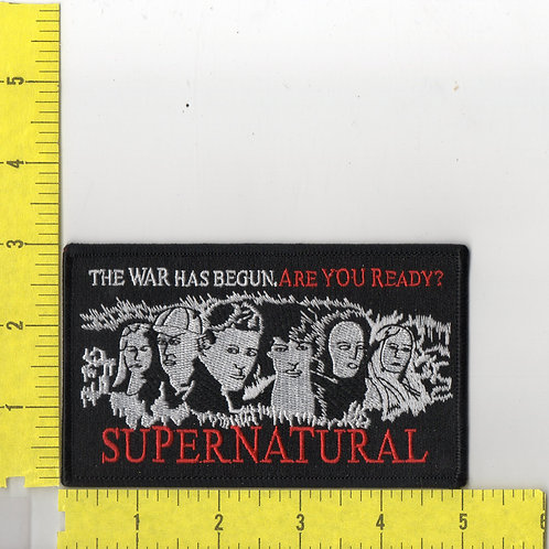 """Supernatural """"The War Has Began, Are You Ready"""" Patch"""