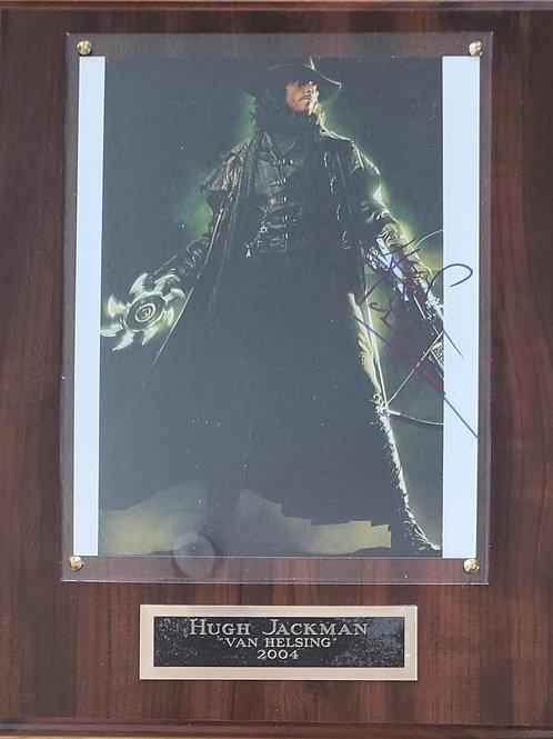 Autographed  Hugh Jackman Cherry Deluxe Plus Plaque